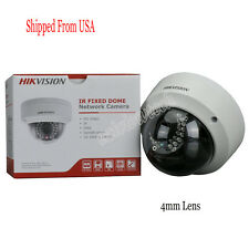 English Hikvision DS-2CD2142FWD-I 4mm 4MP Dome Network IP Camera PoE Security IR