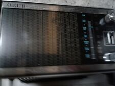 *** Zenith C414W tabletop AM FM radio MIDCEN MOD WORKS GREAT RECEPTION 1960'S **