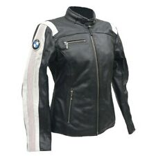 Ladies BMW Biker Motorcycle Leather Jacket Racing Women Motorbike Leather Jacket
