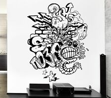 Wall Stickers Monster Ghost Graffiti Street Patterns Vinyl Decal (ed442)