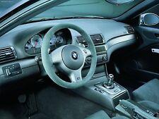 BMW E46 2D&4D DASH CLUSTER GAUGE RINGS SILVER M3 318 320 323 325 328 330