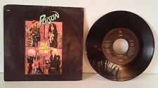 POISON TALK DIRTY TO ME WANT SOME NEED SOME 45 RPM RECORD VG VINYL W/ PIC SLEEV