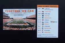 Illinois Fighting Illini 2009 Football Schedule Wallet Card
