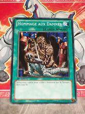 Carte YU GI OH HOMMAGE AUX DAMNES BP01-FR066 x 2