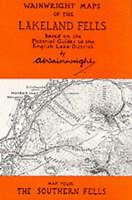 Wainwright Maps of the Lakeland Fells: Southern Fells Map 4, Alfred Wainwright -