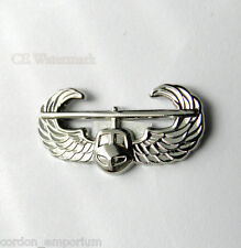 US ARMY AIRBORNE AIR ASSAULT BADGE HELICOPTER WINGS LAPEL PIN 1.25 INCHES