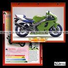 #011.01 Fiche Moto KAWASAKI 750 NINJA ZX-7RR (ZX7RR) 1999 Motorcycle Card