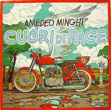 "AMEDEO MINGHI ""CUORE DI PACE""  lp originale mint cover ANDREA PAZIENZA"