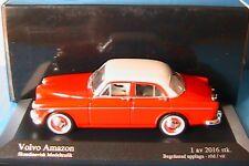 VOLVO AMAZON 1959 RED WHITE SKANDINAVISK MODELTRAFIK 1/43 MINICHAMPS 433171063
