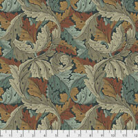 William Morris Acanthus in Autumn 110cm wide 100% Cotton, Quilting Dressmaking
