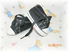 Reborn Doll Low Cut Sneakers Black 85 MM~ REBORN DOLL SUPPLIES AND CLOTHING