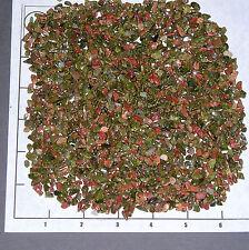 UNAKITE 4-10mm tumbled, 1/2 lb bulk xmini stones pink green