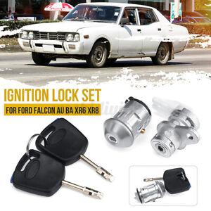 Right Driver Ignition Barrel Door Lock & Keys for FORD FALCON  BA XR6 XRB  .*