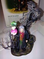 Dept 56 Dicken's Village All Hallows' Eve Jack-Of-The-Lantern Halloween EUC