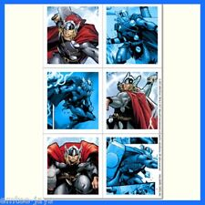 Thor Stickers - Sealed Pack/4 Sheets - 24 stickers - Favours - Avengers - Comic
