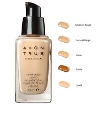 Avon True Colour Flawless Liquid Foundation in Nude (Box Damaged)