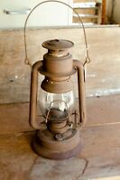 Antique Vintage Lantern Barn Lamp Rusty primitive lantern