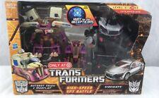 Transformers HFTD High-Speed Spy Battle Skids Mudflap And Sideways MISB