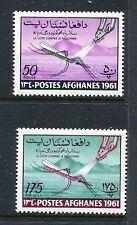 Afghanistan 518-519, MNH WHO drive to eradicate Malaria, 1961 mosquito. x23857
