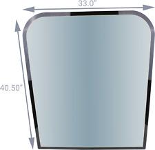 Upper Front Glass 1566472 Fits Cat 307c 307csb 307d 311c 311cu 311dlrr