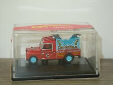 Land Rover 109 Loudspeaker Chipperfields Circus - Oxford 1:76 in Box *43207