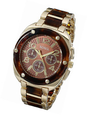 XOXO Women's XO5644 Gold Tortoise Bracelet Analog Watch