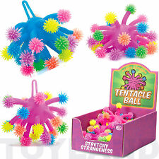 TENTACLE BALL STRETCH SQUEEZY STRESS FIDGET FIDDLE SEN ADHD BOYS GIRLS TOY
