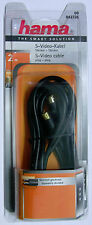 Hama Video S-Video Connecting Cable 0042726 4-pin S-VHS Male  - length 2 m