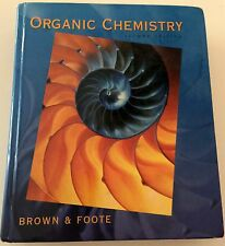 Organic Chemistry Kate Brown, Miranda Brown & Foote 2nd Edition 1997 Hardcover!!