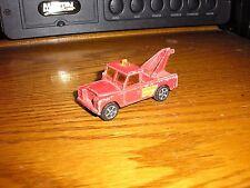 RARE Vintage Corgi Toys Juniors WHIZZWHEELS Land Rover Wrecker Tow Truck