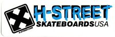 H-street skateboards skateboard autocollant-old school new skate sk8 patinage usa