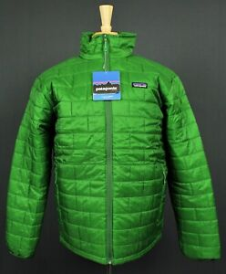 NEW Patagonia Nano Puff Primaloft Alpine Climbing Jacket Mens XL Green