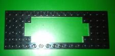 LEGO BLACK 4.5 VOLT TRAIN MOTOR BASE PLATES WITH CUTOUTS 16X6 STUDS