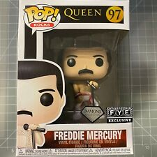 "Funko Pop Rocks : Queen : Freddie Mercury Diamond Collection #97 FYE ""NEW"""