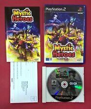 Mystic Heroes - PLAYSTATION 2 - PS2 - USADO - MUY BUEN ESTADO