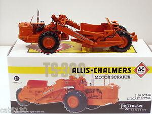 """Allis Chalmers TS300 Scraper - """"2007 NTTC"""" - 1/50 - First Gear #50-3099"""