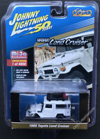 JOHNNY LIGHTNING 50th Anniversary 1980 Toyota Land Cruiser Off Road 1:64 White