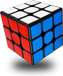 Full Size Speed Rubix Cube Smooth Magic Puzzle Rubic Twist Gift Toy 3x3 Rubics
