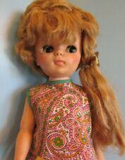 "16"" Eegee 1967 15M TODDLER FASHION Doll Vintage BLONDE Hair OPEN/CLOSE Eyes"