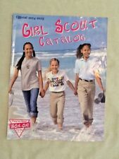 NEW CATALOG 2002-03 Girl Scout Uniforms Jewelry Dolls Gift-ware BADGES Combine