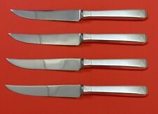 """Craftsman by Towle Sterling Silver Steak Knife Set 4pc HHWS  Custom Made 8 1/2"""""""