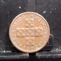 X Centavos 1962 Brilliant Uncirculated Copper Coin Portugal 10