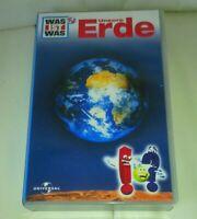 Was ist Was . Unsere Erde .VHS  Neuwertig
