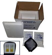 TenderNeeds Fertility Donor Insulated Shipping Box & 2 Test Yolk Buffer (TYB)