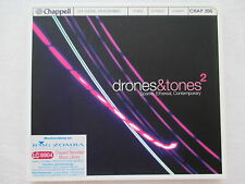 Drones & Tones 2 - Sparse, Ethereal, Contemporary - Soundtrack for radio, movies