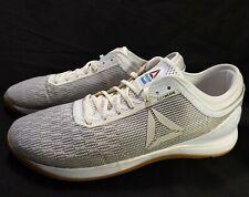 REEBOK CrossFit Nano 8 Men's 13 M White Gum Sole Flex Weave Athletic Shoes