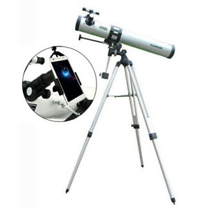 Visionking 3 inch 76-900 mm EQ Astronomical Telescope & Smart Phone Adapter