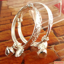 Hot New 2017 - Silver Plated Infant Small Baby Longevity Lock Bracelet