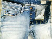 *HOT Men's DIESEL @ SAFADO 810N - Slim STRAIGHT LEG DISTRESS Denim Jeans 29 x 32