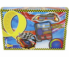 super speed race car 2 pieces with race racing game track toy boys gift present